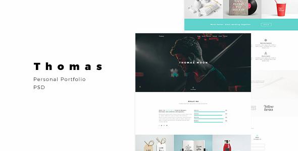 Thomas - Personal Portfolio