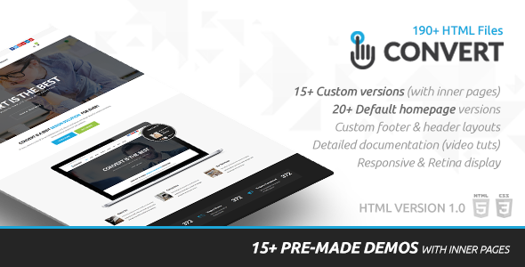 Convert - PSD to HTML5