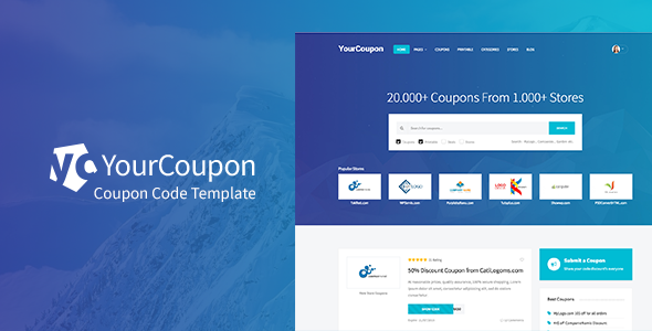 YourCoupon - PSD to HTML5