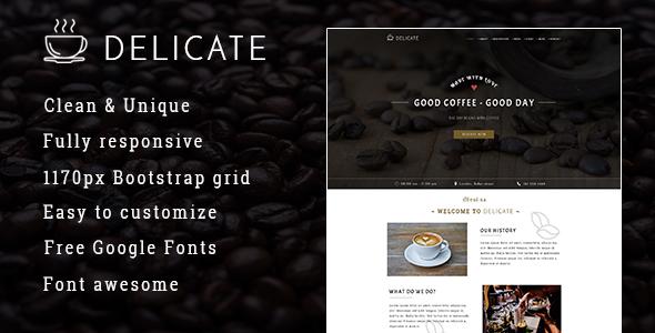 DELICATE | Coffee - Shop