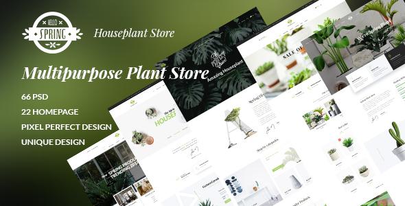 SPRING - Multipurpose Plant Store