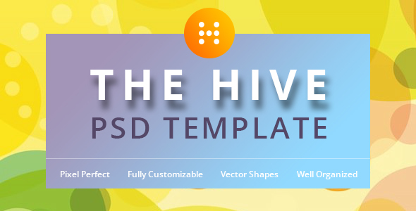 The Hive PSD Template