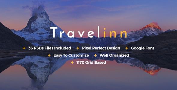 Travelinn Travel & Tour PSD Template