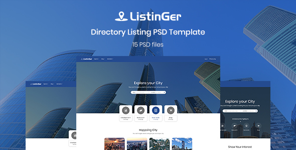 ListinGer - Directory Listing Template