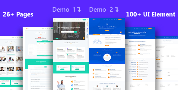 Prime - Multi-Purpose Business Services PSD Template
