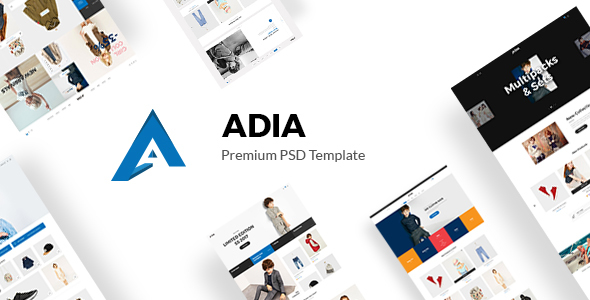 Adia - Kid Store PSD Template