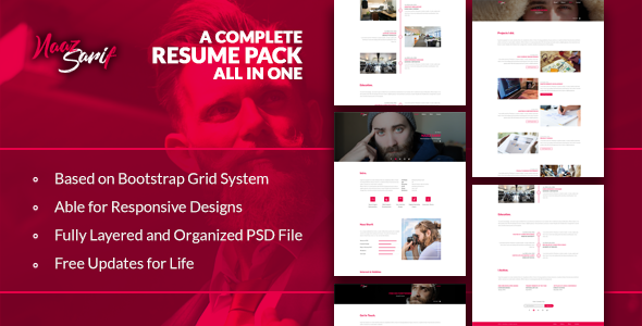 Naaz Sarif - Resume Pack