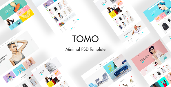 TOMO - Minimal eCommerce Template