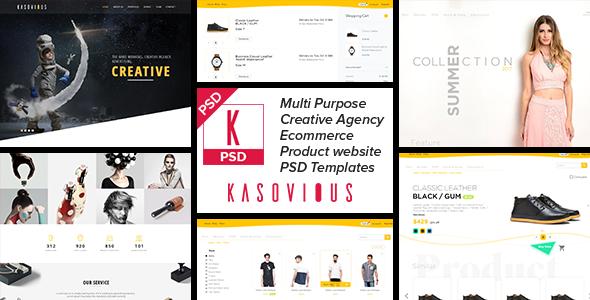 Kasovious - Creative and Clean Multipurpose Template