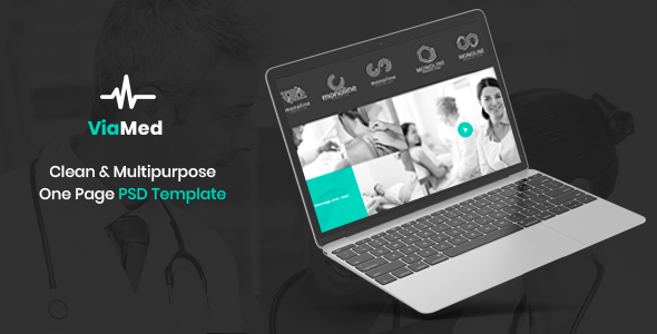Viamed - Medical PSD Templates