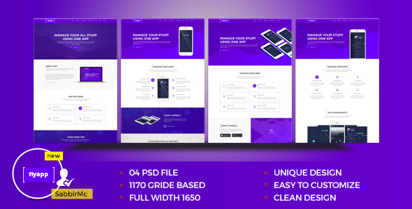 creative app landing page archives psd to html5 web service. Black Bedroom Furniture Sets. Home Design Ideas