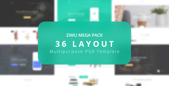 ZIMU Multipurpose Web Template