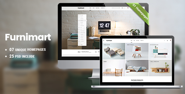 Ecommerce Home Decor Template WordPress