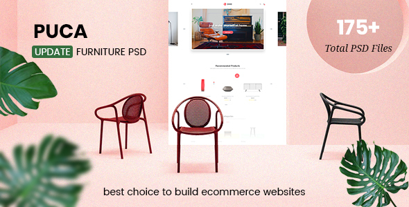 Puca - Multipurpose eCommerce PSD Template