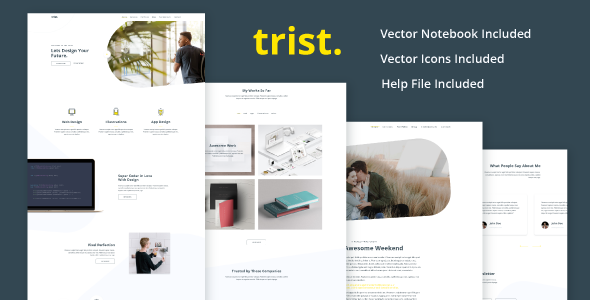 Trist - Landing Page Agency
