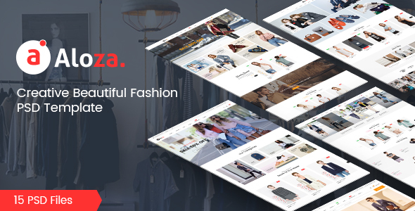 Aloza - Creative Multi-Purpose eCommerce PSD Template