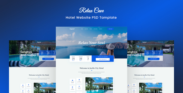 Relax Cave - Hotel Website Template