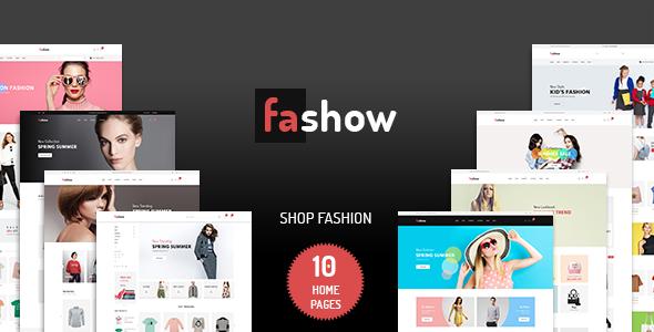 Fashow - Minimalist eCommerce PSD Template