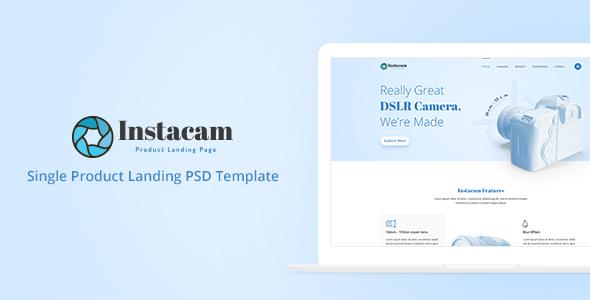 Instacam - Single Product Landing Page