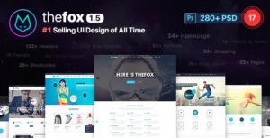TheFox | Multi-Purpose PSD Template
