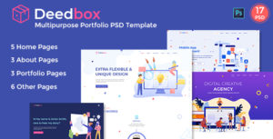 Deedbox - Multipurpose Portfolio PSD Template