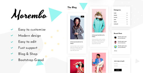 Morembo - Fashion Template