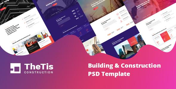 Thetis - Construction PSD Template