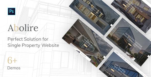 Abolire - Single Property PSD Template