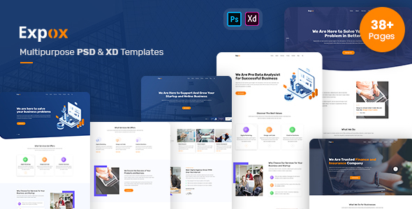 Expox - Multipurpose PSD and XD Templates