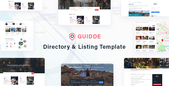 Guidde - Directory & Listing Template