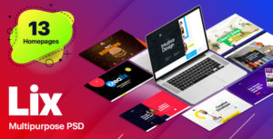 Lix - Multipurpose PSD Template