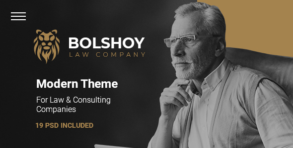 BOLSHOY - Modern PSD Template