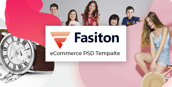 Fasiton - eCommerce PSD template