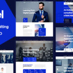 Business Consulting and Finance PSD Template - Netcel