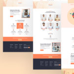 Creative Agency PSD Template - Devency