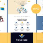Modran Creative Agency PSD Template - Floydrose