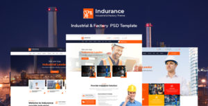 Indurance - Chemical & Factory PSD Template