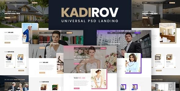 Kadirov - Universal PSD Landing