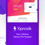 Landing Page for Saas & Software - Xprosik