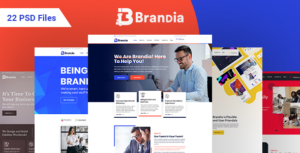 Brandia - Next Generation Business and Firm PSD Template