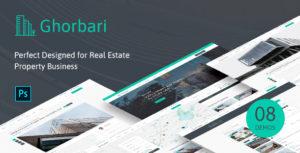 Ghorbari - Real Estate PSD Template