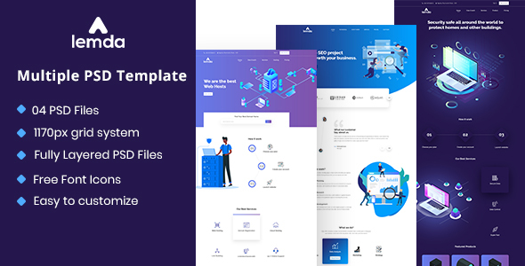 LEMDA - Multipurpose PSD Template