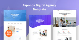 Paponda Digital Agency Page