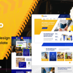 Construction PSD Template - Contio