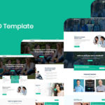 Education PSD Template - Domar