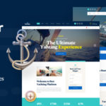 Boat & Yacht Charter Services PSD Template - Yacher