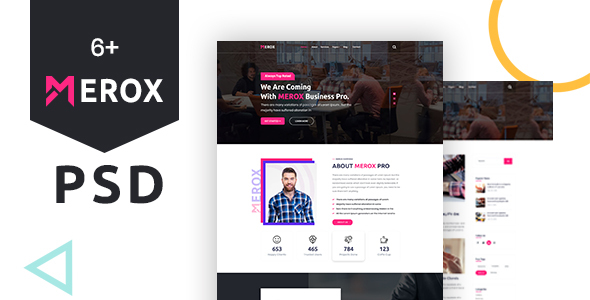Merox - Corporate PSD Template