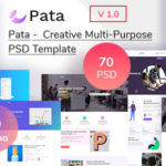 Creative Multipurpose  PSD Template - Pata