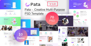 Pata - Creative Multipurpose  PSD Template