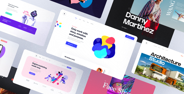 Rave - Premium Multipurpose PSD Template